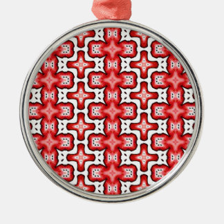 Kaleidoscope texture christmas ornament