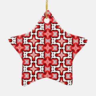 Kaleidoscope texture christmas ornament