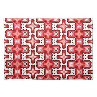 Kaleidoscope texture placemat