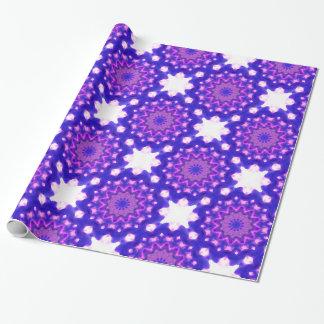Kaleidoscope Tile Pattern Wrapping Paper