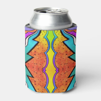 KALEIDOSCOPE WATERCOLOR CAN COOLER