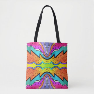 KALEIDOSCOPE WATERCOLOR TOTE BAG