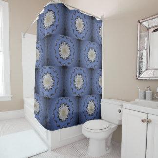 Kaleidoscope WaterLily Shower Curtain