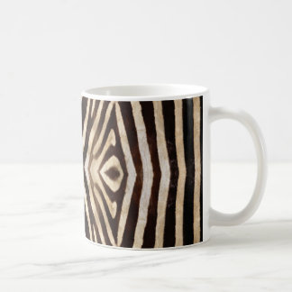 Kaleidoscope Zebra Fur Pattern Coffee Mug