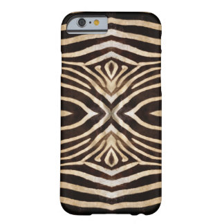 Kaleidoscope zebra fur pattern iphone 6 case
