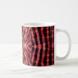 Kaleidoscope Zebra Skin Pattern Basic White Mug