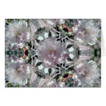Kaleidoscopic Cherry Blossom Greeting Cards