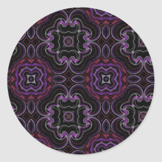 Kaleidoscopic Dreams Classic Round Sticker