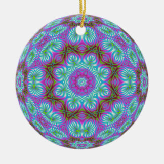 Kaleidoscopic Fractal Ornament.1 Christmas Ornament