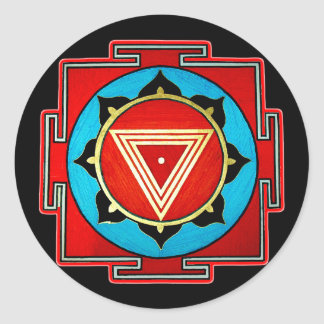 Kali Yantra Sticker