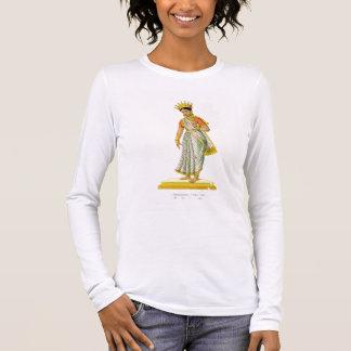 Kalika wife of Varuna, engraved by C. de Motte (17 Long Sleeve T-Shirt