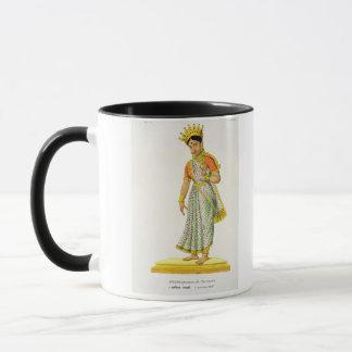 Kalika wife of Varuna, engraved by C. de Motte (17 Mug