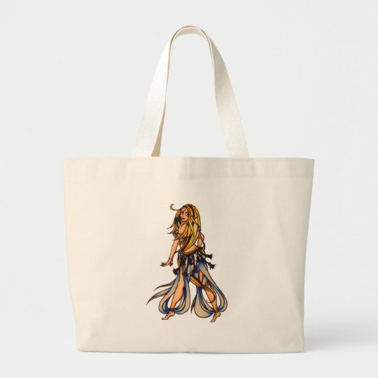 Kalila Belly Dance tote bag