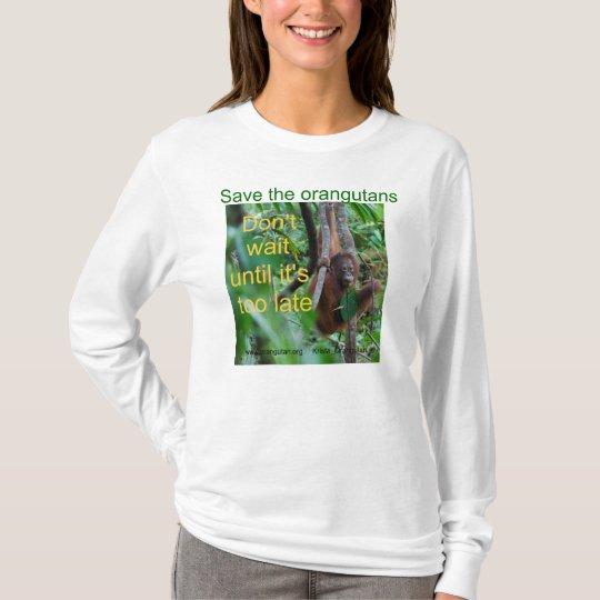 Kalimantan Indonesia Orangutan T-Shirt