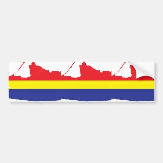 Kaliningrad Oblast, Russia flag Bumper Sticker