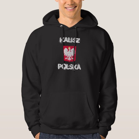 Kalisz, Polska, Kalisz, Poland with coat of arms Hoodie