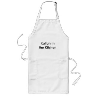 Kallah in the Kitchen Long Apron