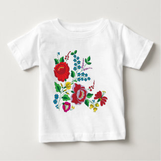 Kalocsa Embroidery Baby T-Shirt