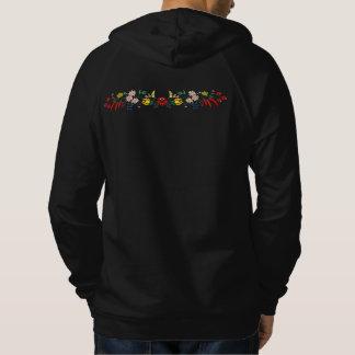 Kalocsai embroidery design hoodie