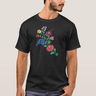 Kalocsai Flower Stem T-Shirt