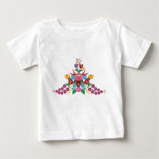 Kalocsai triangle pattern baby T-Shirt