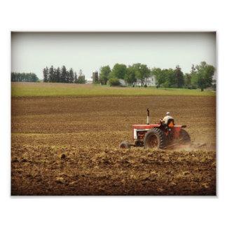 Kalona, Iowa Field Work Art Photo