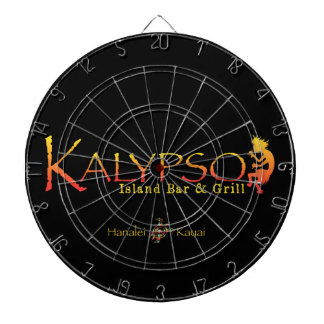 Kalypso Colorful Logo With Rainbow Sea Turtle Dartboard