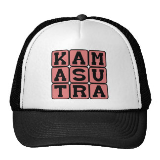 Kama Sutra, Adult Instruction Manual Mesh Hats