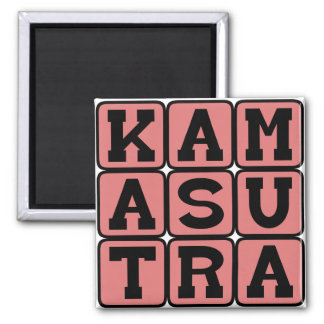 Kama Sutra Adult Instruction Manual Fridge Magnet