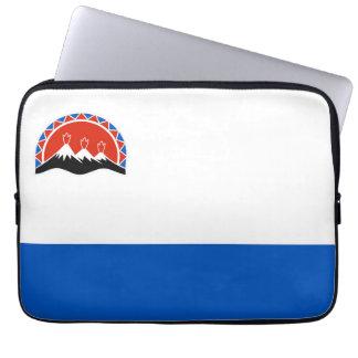 kamchatka flag russia country republic region laptop sleeve