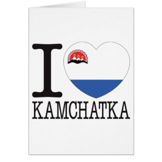 Kamchatka Love v2 Greeting Card