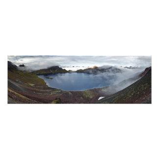 Kamchatka Peninsula: crater lake of active volcano Photo Print