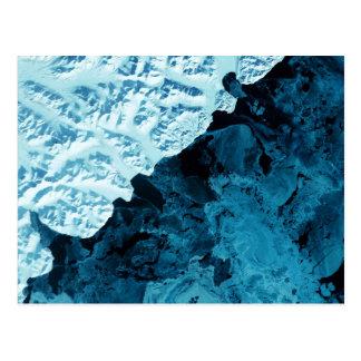 Kamchatka Peninsula Satellite Postcard
