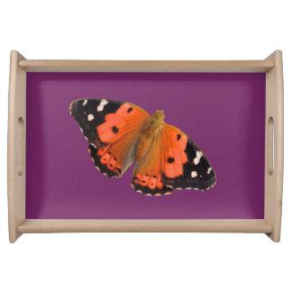 Kamehameha butterfly design fod trays