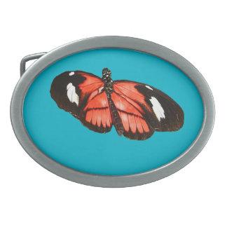 Kamehmeha butterfly design belt buckles