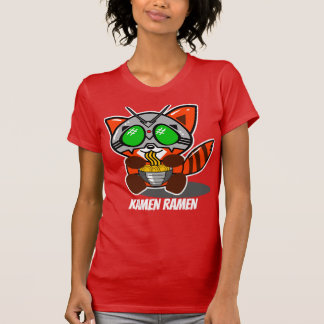 KAMEN RAMEN GIANT RED PANDA WOMEN TEE