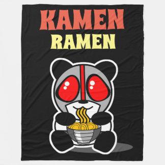 KAMEN RAMEN PANDA THROW BLANKET