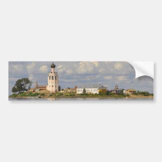 Kamenny Monastery Kubensky Lake Vologda Russia Bumper Sticker