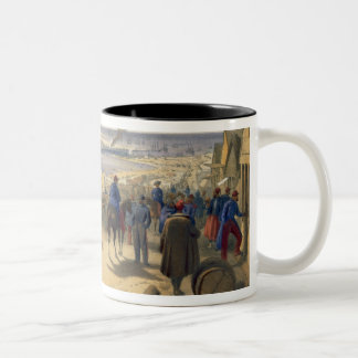 Kamiesch, plate from 'The Seat of War in the East' Two-Tone Coffee Mug