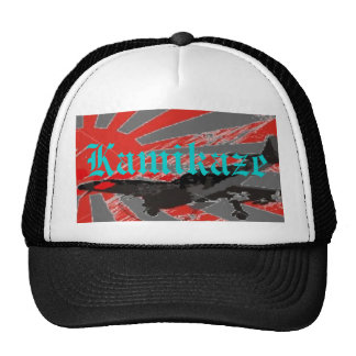 Kamikaze Bomber Japanese Rising Su - Customized Mesh Hat