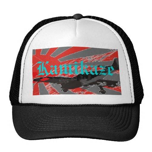 Kamikaze Bomber Japanese Rising Su... - Customized Mesh Hat