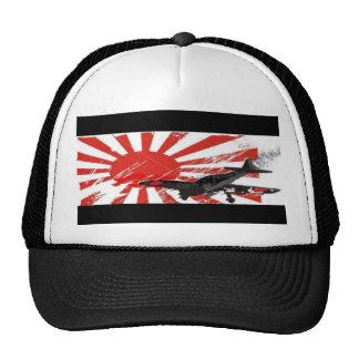 Kamikaze Bomber Japanese Rising Sun Flag Hat