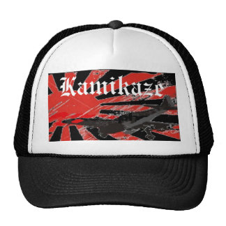 Kamikaze Bomber Japanese Rising Sun Flag HatCustom Hats