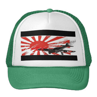 Kamikaze Bomber Japanese Rising Sun Hat Customized