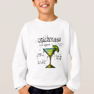Kamikaze Cocktail Recipe Sweatshirt