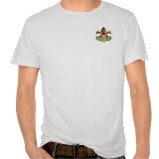 Kamikaze Krewe Pocket Logo Damaged T T-shirt