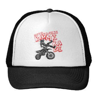 Kamikaze moto hats