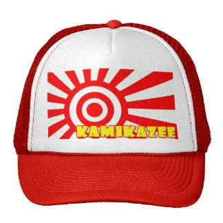 kamikaze paintball trucker cap