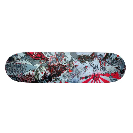 KamiKaze Skateboard - Graffiti Sk8 Deck