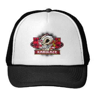 Kamikaze Skull Mesh Hat